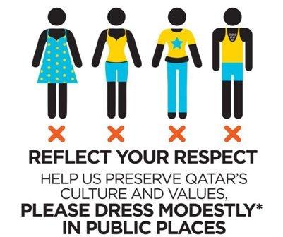 Qatar : expatriés et touristes invités à se couvrir