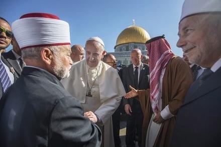 Pape François, à Jérusalem : « Que personne n'instrumentalise par la violence le nom de Dieu ! »