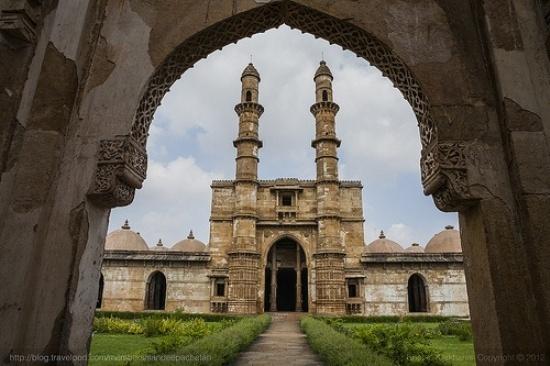 La mosquée Jami Masjid, construite en 1513 dans l'Etat du Gujarat, compte parmi les joyaux historiques les plus réputés d'Inde.