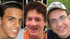 Les trois adolescents israéliens retrouvés morts.