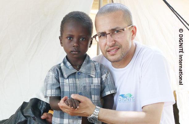 Mission de DIGNITÉ International pour les réfugiés centrafricains.