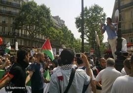 Manif interdite à Paris