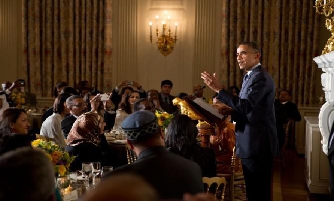 Le 6e iftar de la Maison Blanche, le 14 juillet 2014, perturbé par les déclarations pro-israéliennes d'Obama.