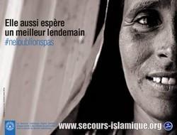 #Neloublionspas, le Secours islamique France investit les rues