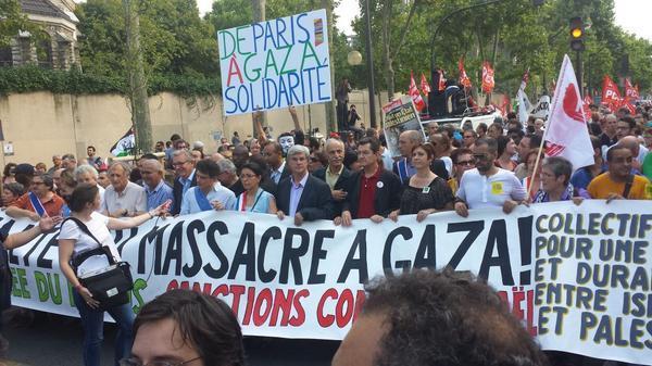 Manif pour Gaza : 25 000 personnes dans les rues de Paris