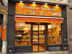 La pâtisserie La Rose de Tunis de Marseille.