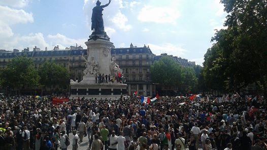 Manif pour Gaza : des milliers à Paris, des gardes à vue recensées