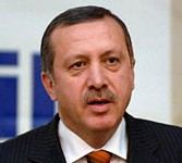 Le Premier ministre turc Tayyip Erdogan