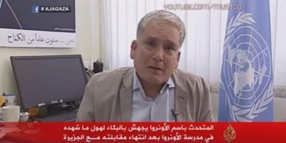 Massacres à Gaza : les larmes d'un responsable de l'ONU en direct (vidéo)