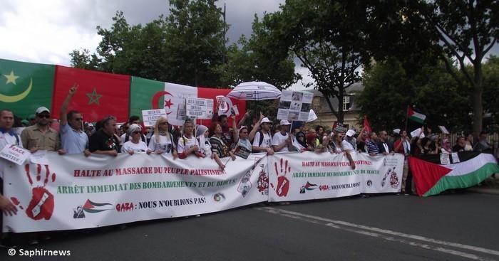 Paris-Gaza : les milliers de manifestants exigent des sanctions contre Israël