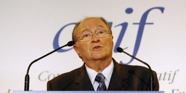 Roger Cukierman, président du CRIF.
