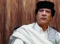 Le dirigeant libyen Moammar Kadhafi