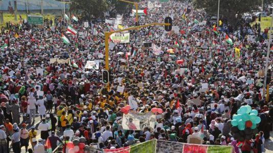 L'Afrique du Sud, mobilisée pour la Palestine, appelle à boycotter Israël