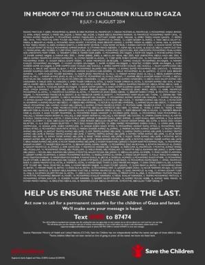 Gaza : plus de 400 enfants tués, 344 naissances recensées