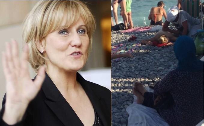 Nadine Morano exprime son mépris absolu des femmes voilées en France
