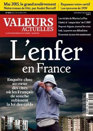 Les « Français de souche » en enfer : la nouvelle couv' de Valeurs actuelles