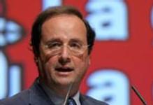 Le numéro un socialiste François Hollande