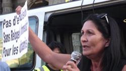 La députée algérienne Chafia Mentalecheta.