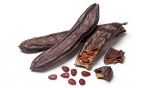 La graine de caroube, assez méconnue, est un anti-diarrhéique naturel. En cuisine, on s'en sert en tant qu'additif et pour remplacer le cacao. Le caroubier est cultivé depuis l'Antiquité, principalement dans les pays méditerranéens, notamment en Espagne et en Italie du Sud.