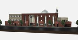 La future Grande Mosquée de Beauvais.