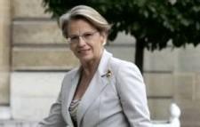Michèle Alliot-Marie, ministre de l'Intérieur