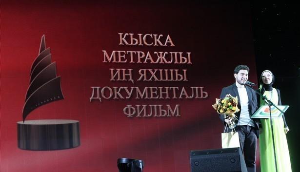 Abderrahmane Hedjoudje au festival du film musulman à Kazan.