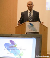 Amar Lasfar, président du lycée Averroès