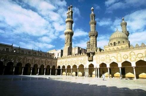 La mosquée d'Al-Azhar