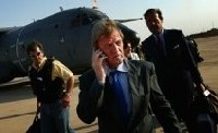Bernard Kouchner, ministre français des Affaires étrangères