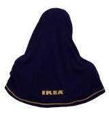 Le modèle de voile porté par les employées musulmanes d'IKEA