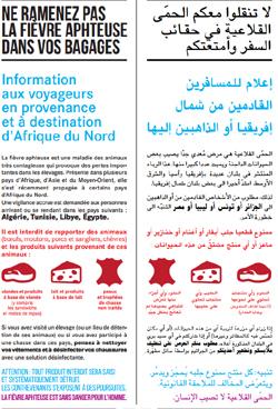 Tract de la préfecture de Mayenne et de l'Allier.