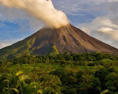 Le volcan et la jeunesse