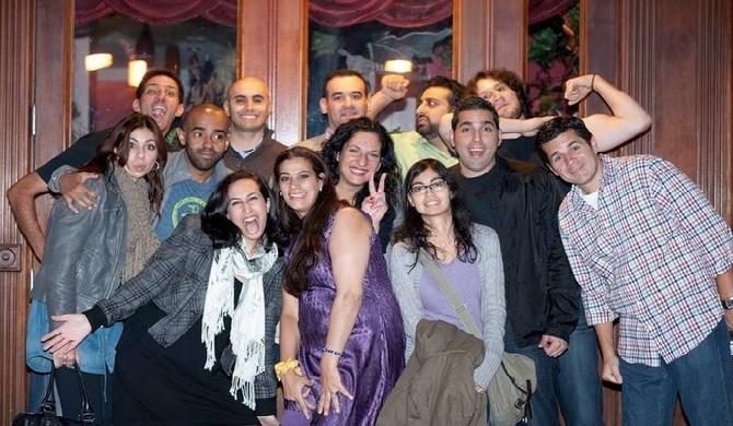 Les artistes au New York Arab-American Comedy Festival (NYAACF) 2014.