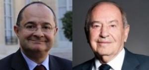 Ariel Goldman (à g.) et Serge Hoffman