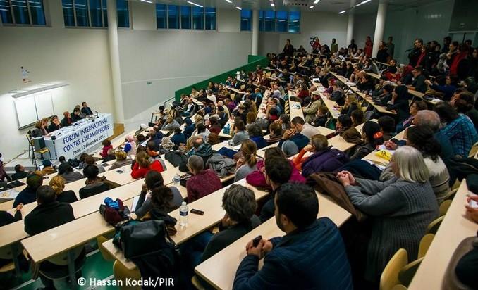 La Journée internationale contre l'islamophobie a été organisée le 14 décembre à Paris, Bruxelles et Londres.