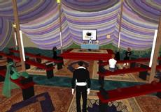 Inauguration de la tente Islamonline sur Second Life