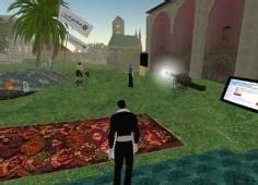 Inauguration de la tente du Ramadan sur Second Life