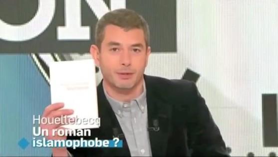 Le coup de gueule d'Ali Baddou contre Michel Houellebecq (vidéo)