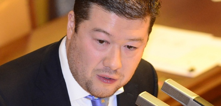 Tomio Okamura, un leader d'extrême droite en République tchèque.