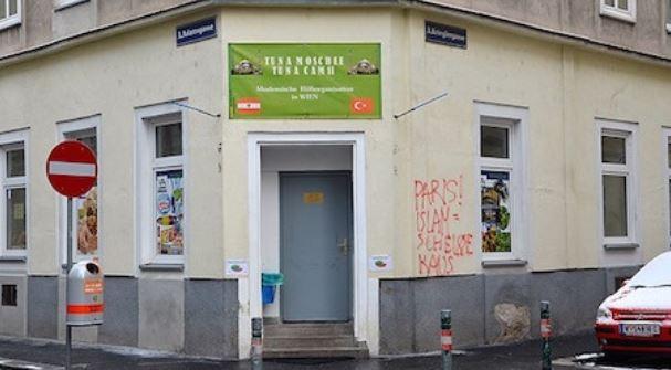 Charlie Hebdo : une mosquée taguée en Autriche