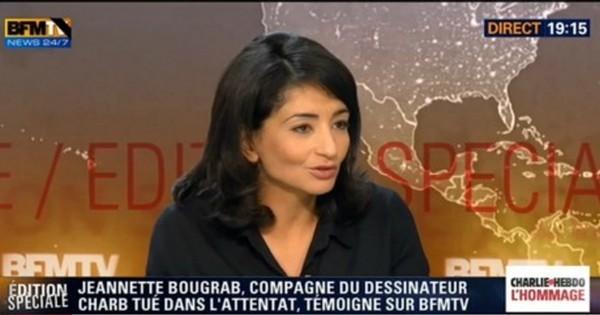 Charlie Hebdo : Jeannette Bougrab, compagne de Charb ? La famille dément