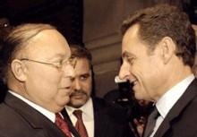 Dalil Boubakeur reçoit Nicolas Sarkozy