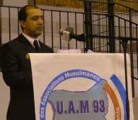 M'Hammed Henniche à la tribune le 4 octobre 2007
