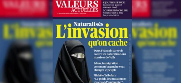 Marianne voilée : Valeurs actuelles condamné pour sa Une islamophobe