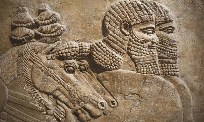 Des reliefs de Nimrud.