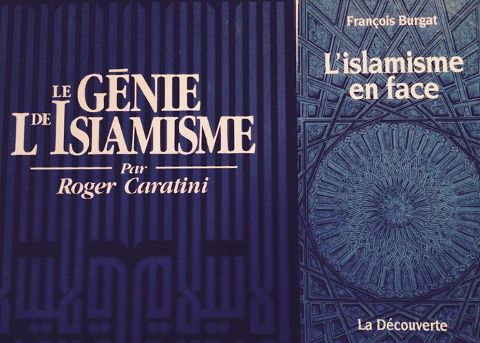 En faisant référence à l'« islamisme » (1992), Roger Caratini parlait de l'islam en tant que religion et civilisation, rendant ainsi hommage à l'ouvrage de Chateaubriand « Génie du christianisme » (1826). En revanche, « L'islamisme en face » de François Burgat (1995) est ici analysé en tant que projet politique.