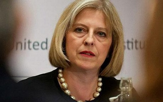 Theresa May, la ministre britannique de l'Intérieur.