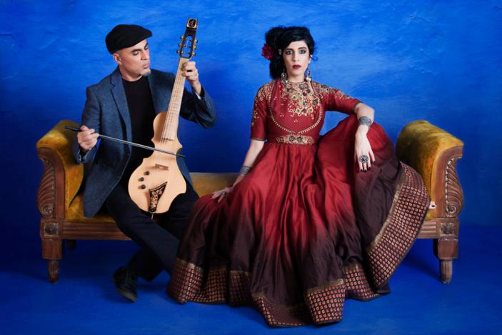 La musique du groupe Niyaz s'inspire des grands mystiques orientaux.