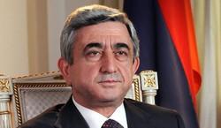 Serge Sarkissian, président de l'Arménie.