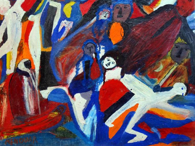 « La promenade » d'Ali Menouar. Le peintre impressionniste Jean Drevon comparaît les œuvres d'Ali Menouar à celles de William Turner.